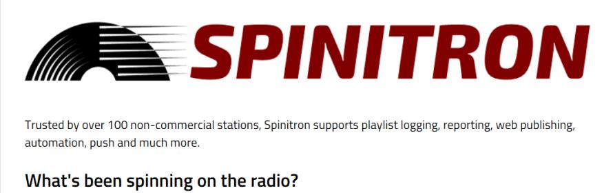 courtesy of Spinitron.com