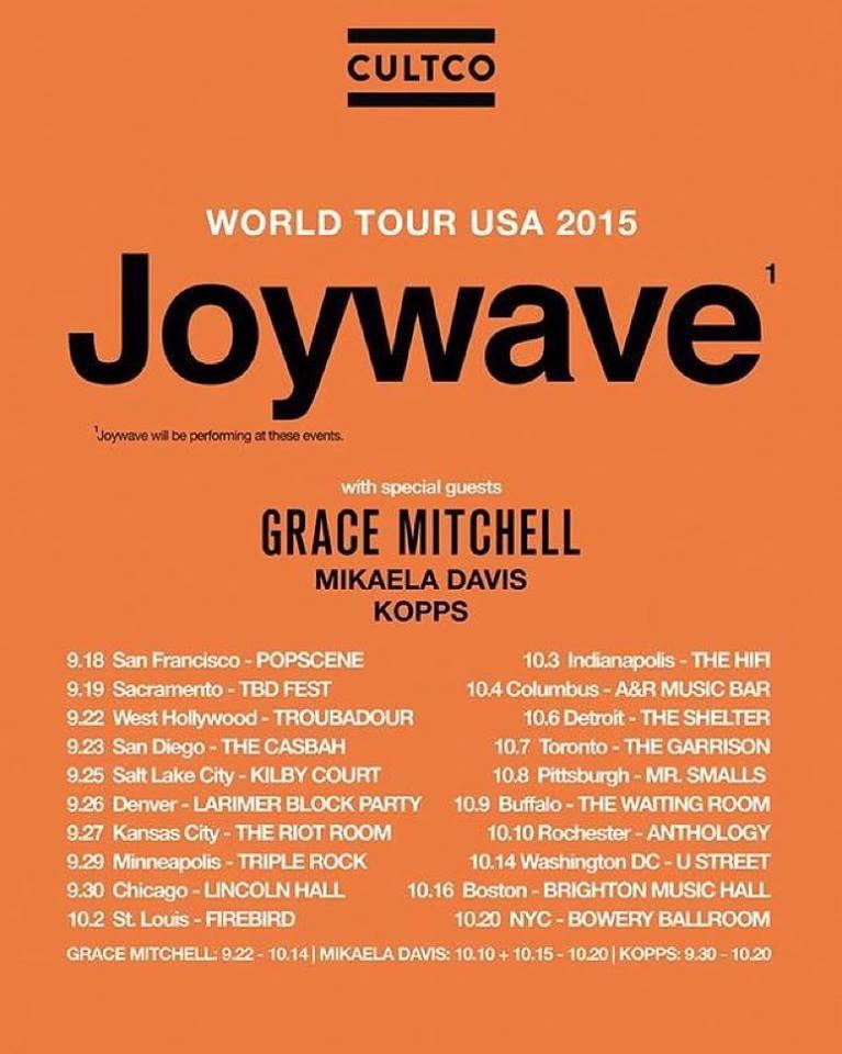 joywave tour