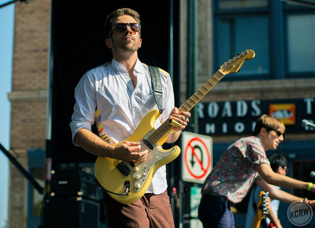 Saint Motel, 2014, by KCRW. Courtesy of Make Music Pasadena