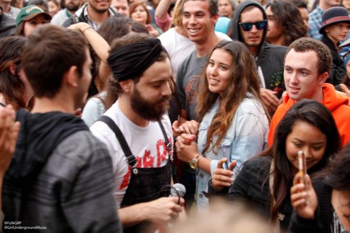 Darren Weiss in crowd