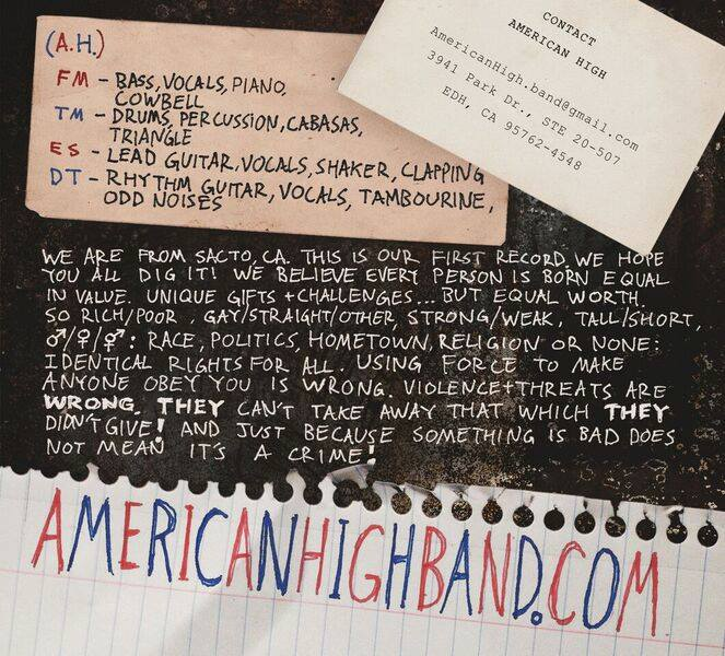 American High inside cover