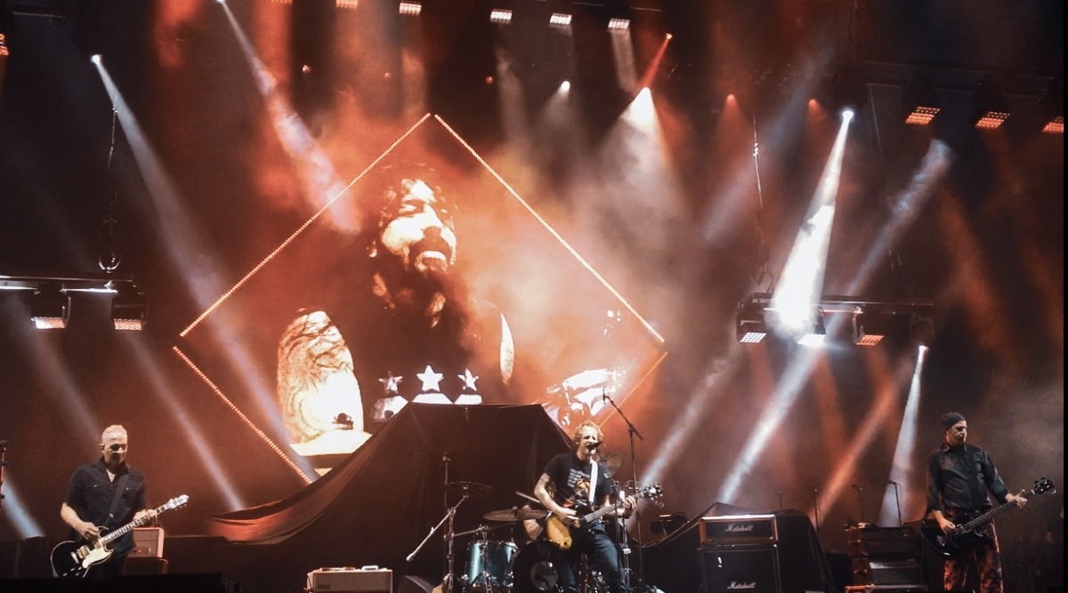 Foo Fighters Hail to the Rock Gods with Cal Jam