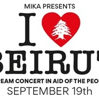 Mika Announces Live Stream Benefit Concert 'I Love Beirut'